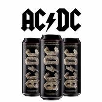 Pack Cerveja Banda Ac/dc 3 Latas 568ml Rock Or Bust