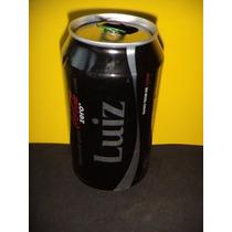 Lata Coca-cola Zero Nomes Luiz Luis 2015 Rexam N171