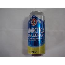Lata Cerveja Antartica Subzero 2011 Excelente Estado