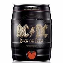 Barril 5 Litros Cerveja Karlsberg Banda Acdc Edição Limitada