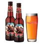 Pack Cerveja Trooper Iron Maiden 330ml + Copo Oficial 500ml