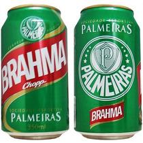 Latas Cervejas Times Brahma Cheias