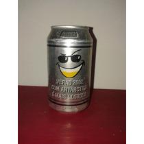 Lata Cerveja Antarctica Verão 2002 Ed Limitada