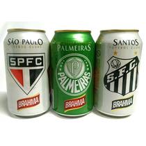 Lata De Cerveja De Time De Futebol Cheia