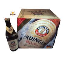 Caixa 12 Unid. Cerveja Erdinger Tradicional - 500ml Alemã