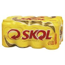 ((3 Pack C/12 Latas)) Cerveja Skol 350ml