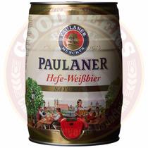 Barril Cerveja Paulaner Hefeweiss - 5 L (frete Grátis)
