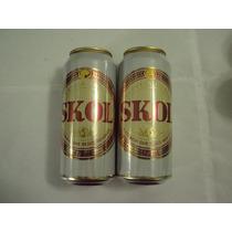 Lata Cerveja Skol Antiga 473ml De 2005 Excelente Estado
