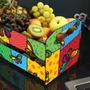 Caixote De Frutas Mdf 3mm De Luxo Mod ( Borboleta ) Cod 1233