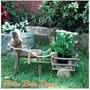 Decoração Jardim Madeira Rustica Artesanal Burro Com Carroça