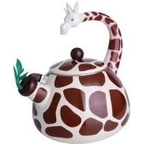 Chaleira Divertida Girafa Esmaltada, 2,5 Litros- Casambiente