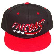 Vintage Atlanta Falcons Flatbill Snapback Boné Chapéu