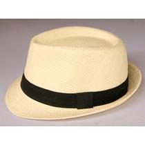 Chapéu Panamá A Moda Das Celebridades! Bege Palha
