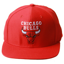 Chicago Bulls Nba Adidas Snapback Chapéu Vermelho Boné + Gt