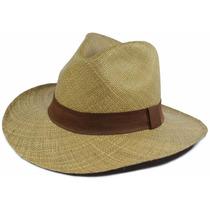Chapéu De Palha Panamá Equador Masculino Feminino Premium