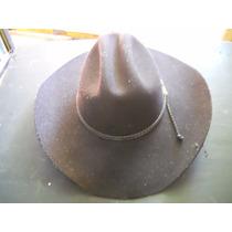 Chapéu Prada - Feltro - Tam. M - 40 Cm - Preto