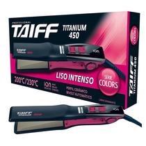 Prancha Taiff Titanium 450 Colors 230 ºc Bivolt