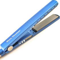 Prancha Chapinha Profissional Nano Titanium 450° Rosa/azul