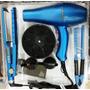 Kit Chapinha + Pente Anti-estático Secador Turbo