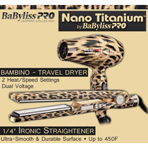 Kit Chapinha Babyliss Profissional De Nano Titanium 450f