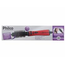 Escova Rotativa Philco Spin Brush (220 V) Vermelha + Brinde