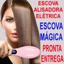 Magic Hair Straightener Escova Elétrica Alisadora 230c Lcd