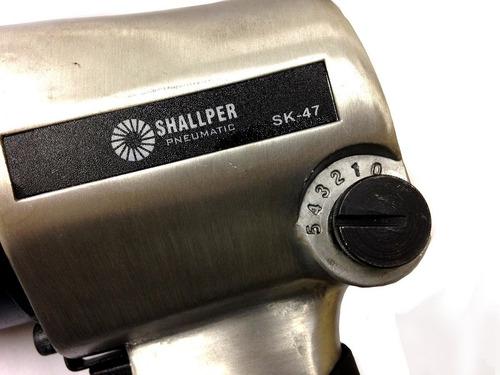 Chave De Impacto Profissional 1/2 C/ Soquetes Shallper 66kg