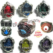 Novos Aneis Vongolas - Hell Ring - 666 - Hitman Reborn Tsuna