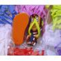 Chinelos Chaveiros P/ Sublimação Com Tecido Kit Com 50 Unid