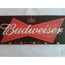 Quadro Decorativo E Porta Chaves Bar Cerveja Beer Budweiser