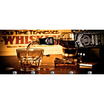 Quadro Porta Chaves Chaveiro Bar Whisky Jack Daniels