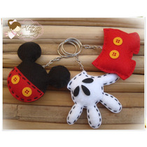 20 Lembrancinha Chaveiro Imã Mickey Mouse Festa Aniversario