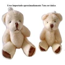 60 Urso Pelucia Mini Lembrançinha Chaveiro Frete Gratis