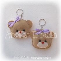 Ursinhos E Ursinhas Da Bibiella - Lembrancinhas Em Feltro