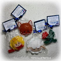 Coleção Pequeno Príncipe - Kit C/ 20 Lembrancinhas Em Feltro