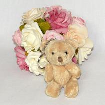 10 Lembrancinhas Chaveiro Ursinho - Urso De Pelúcia - 8cm