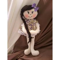 Mini Boneca De Pano 20cm P/ Lembrancinhas Ou Decoração.