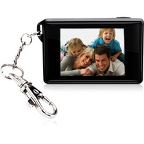 Chaveiro Porta- Retrato Digital Lcd De 1.8 Coby Dp180 Preto