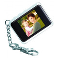 Porta Retratos Digital Formato De Chaveiro Dp151 Branca