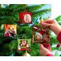 Mini Almofadas Com Foto Para Árvore De Natal