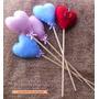 10 Corações No Palito Vira Chaveiro