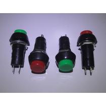 Chave Push Button C/ Trava 3a 2polos *preço De Unidade*