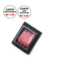 Npc021-chave Liga Desliga Neon - 4 Terminais - C/garnição