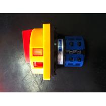 Chave Rotativa Liga/desliga 20a C/ Porta Cadeado P/ Painel