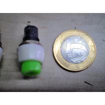 Chave Push-botton C/trava (preço Pct C/10) Frete R$9,00
