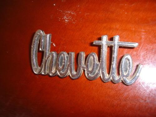 Chevett Tubarao Emblema