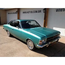 Hotv8 Vende Opala De Luxo 1978 Coupe 6cil 4100 Ar E Dh