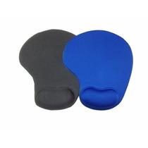 Mouse Pad Ergonômico Com Apoio De Punhos Silicone Gel Comfot