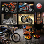 Quadros Motos Harley Davidson Show N Precisa Furar. Coleção!
