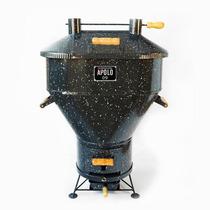 Churrasqueira+kit Gás Apolo09 Original Assa 25kg De Costela
